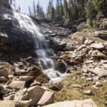 Rancheria Falls Near Huntington Lake in the Sierra Nevadas
