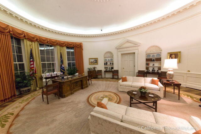 reagan oval office. The Oval Office. Ronald Reagan Library-19 Office R
