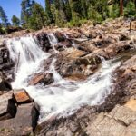 Glen Alpine Falls at Fallen Leaf Lake in South Lake Tahoe