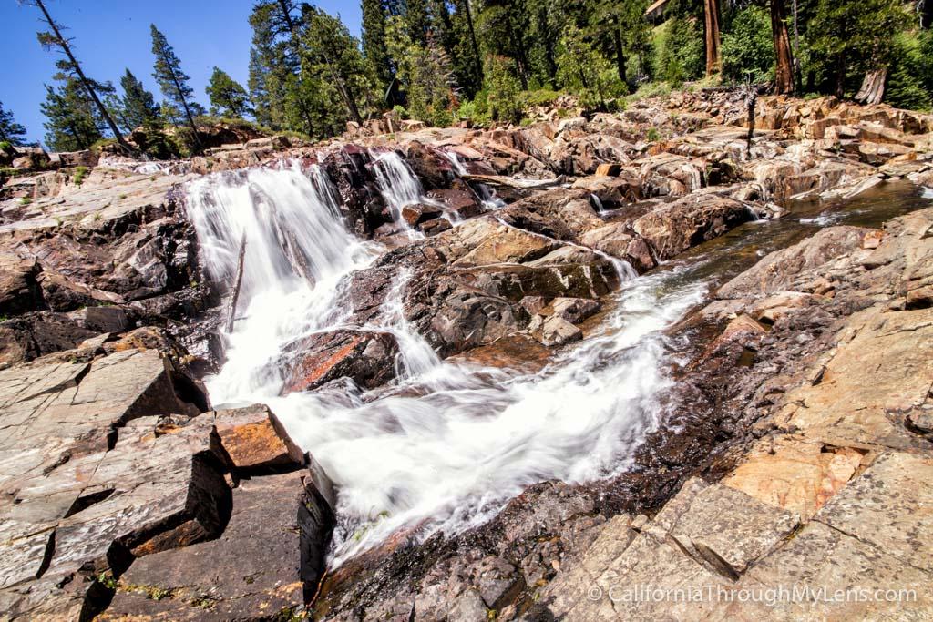 Glen Alpine Falls At Fallen Leaf Lake In South Lake Tahoe