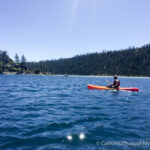 Kayaking to the Fannette Island Tea House in Emerald Bay