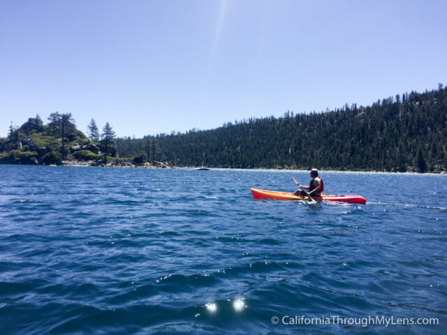 Kayaking to Fannette Island-21
