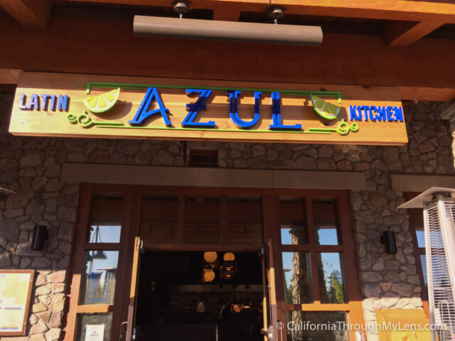 Azul Latin Kitchen Unique Tacos at the Heavenly Village