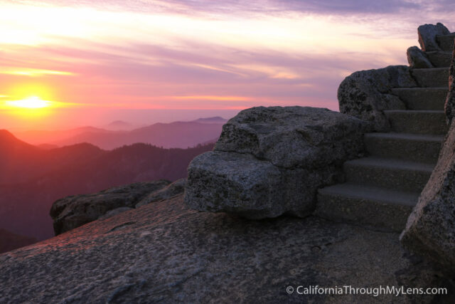 Moro Rock Sunset Night-6