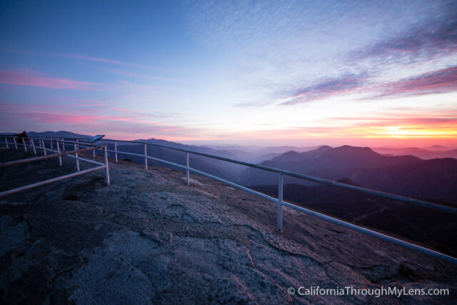 Moro Rock Sunset Night-7
