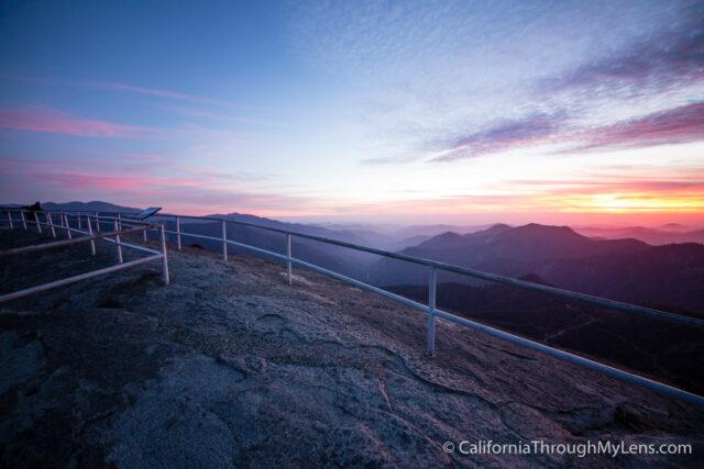 Moro Rock Sunset Night-7