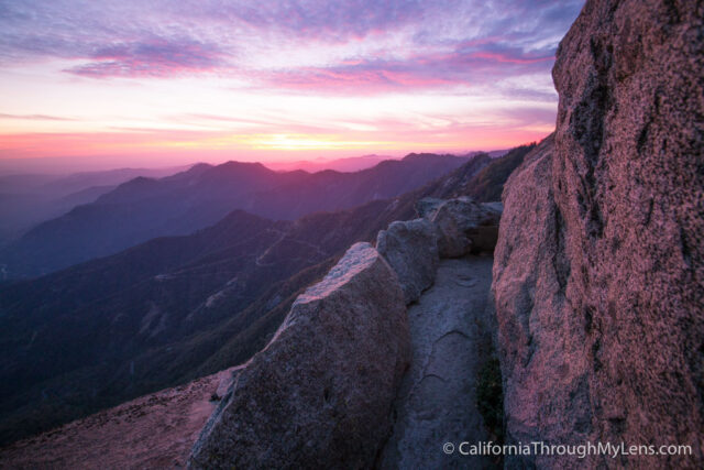 Moro Rock Sunset Night-8