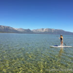 Stand Up Paddle Boarding in South Lake Tahoe