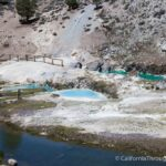 Hot Creek Geological Site: Boiling Bright Blue Water