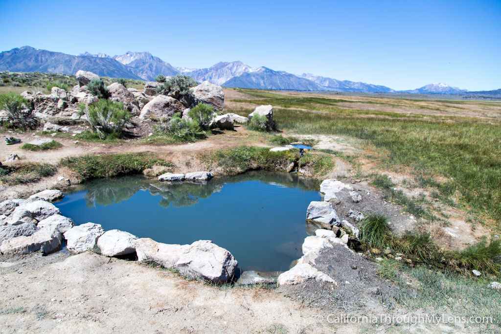 Wild Willy S Hot Spring Near Mammoth Lakes California