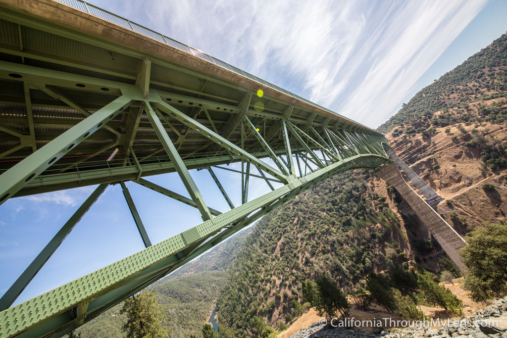 Foresthill Bridge California S Tallest Bridge