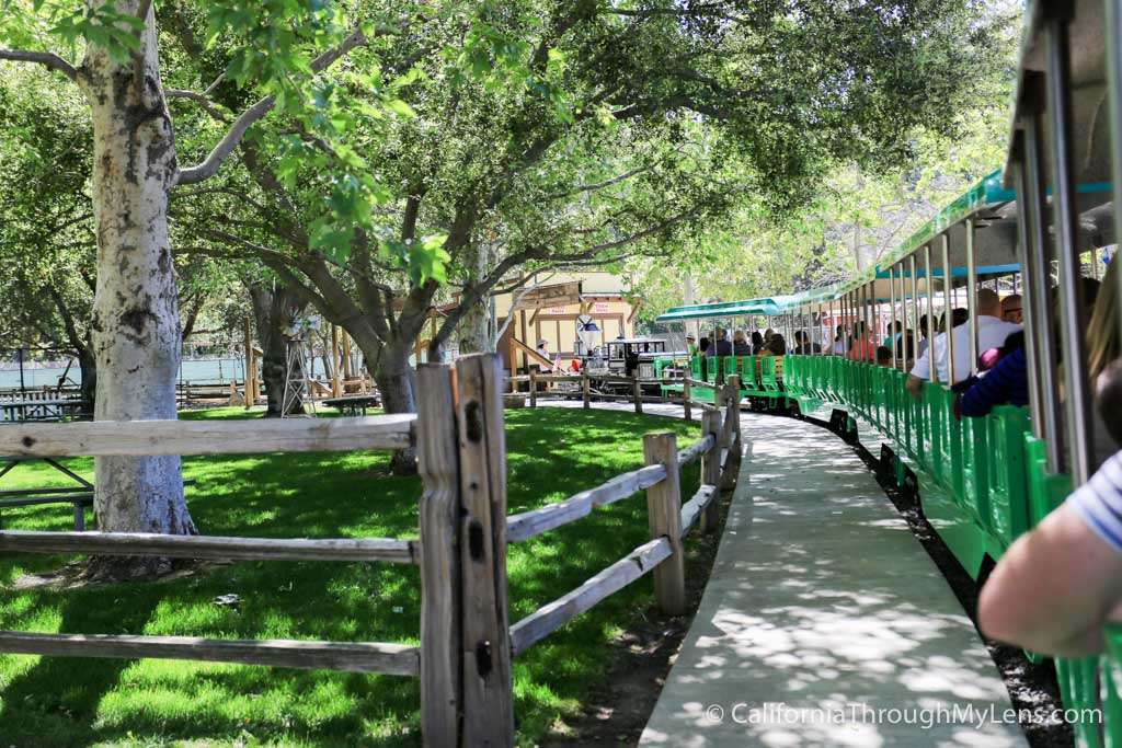 Irvine Regional Park Lakes A Zoo Train Rides California