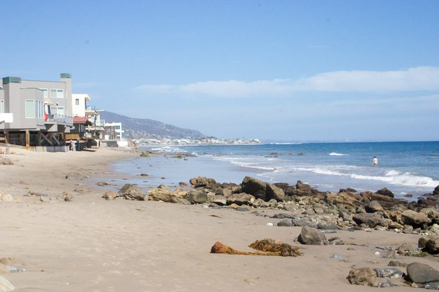 Malibu Road Is Great Because You Can Usually Find Free Parking And Re Almost Sure To Have Some Good Sand Even At High Tide