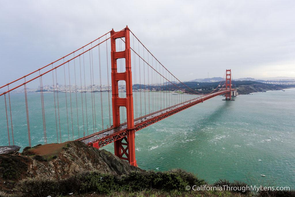 Golden Gate Bridge Food Places