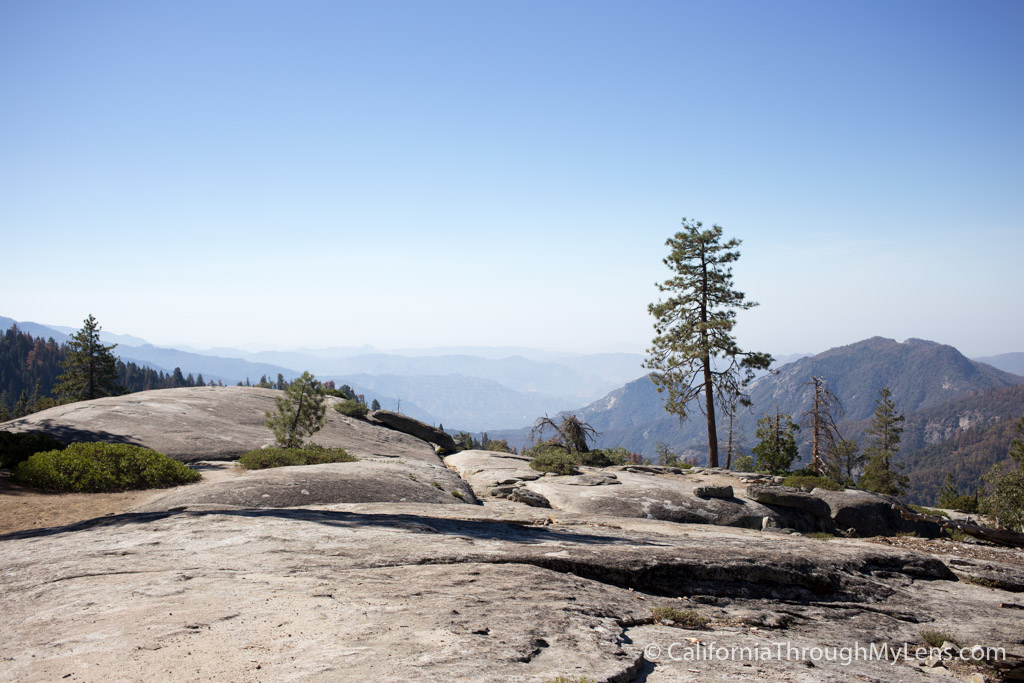 Beetle Rock In Sequoia National Park California Through