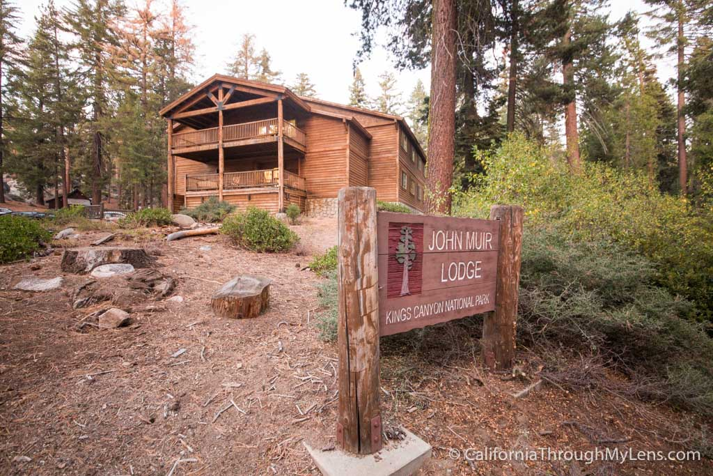 John Muir Lodge In Kings Canyon National Park California
