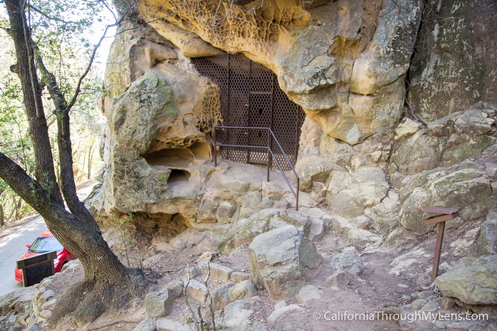Chumash Painted Cave State Park In Santa Barbara