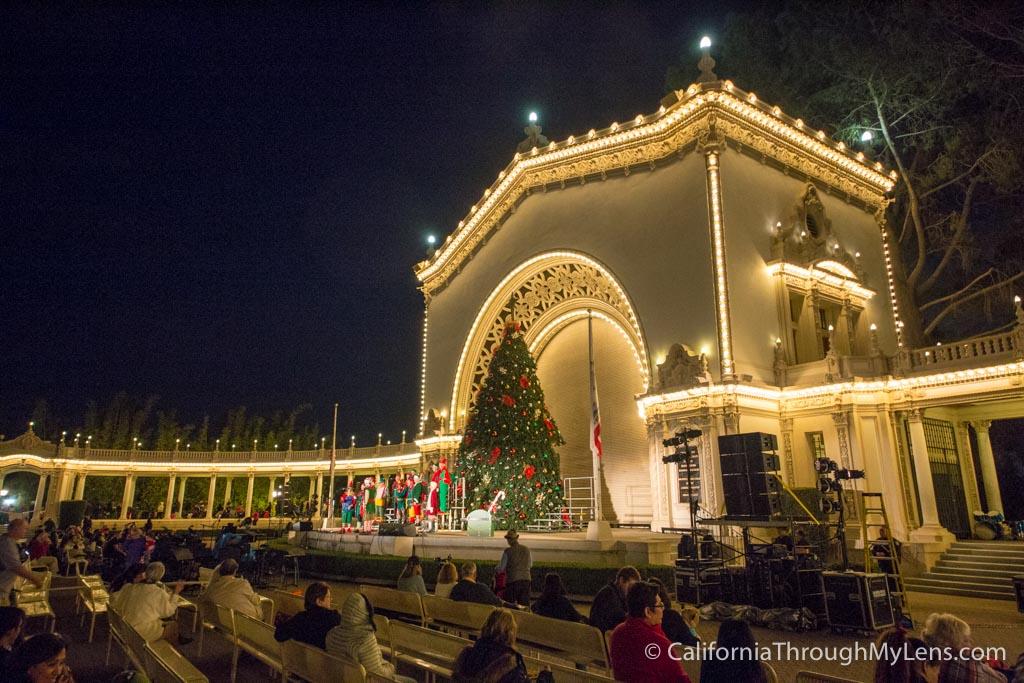 Balboa Park December Nights Christmas At The Prado