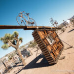 Noah Purifoy's Outdoor Desert Art Museum in Joshua Tree