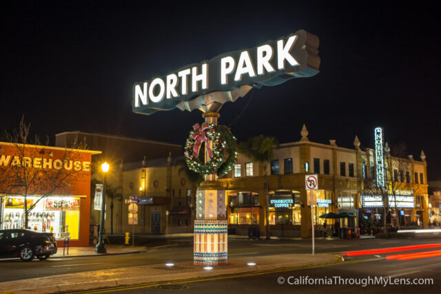 North Park Sign-1