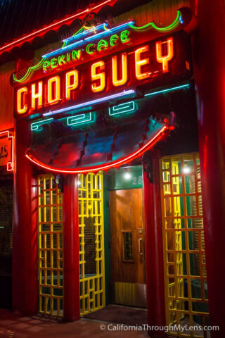 Chop Suey Peking Restaurant in North Park, San Diego - California