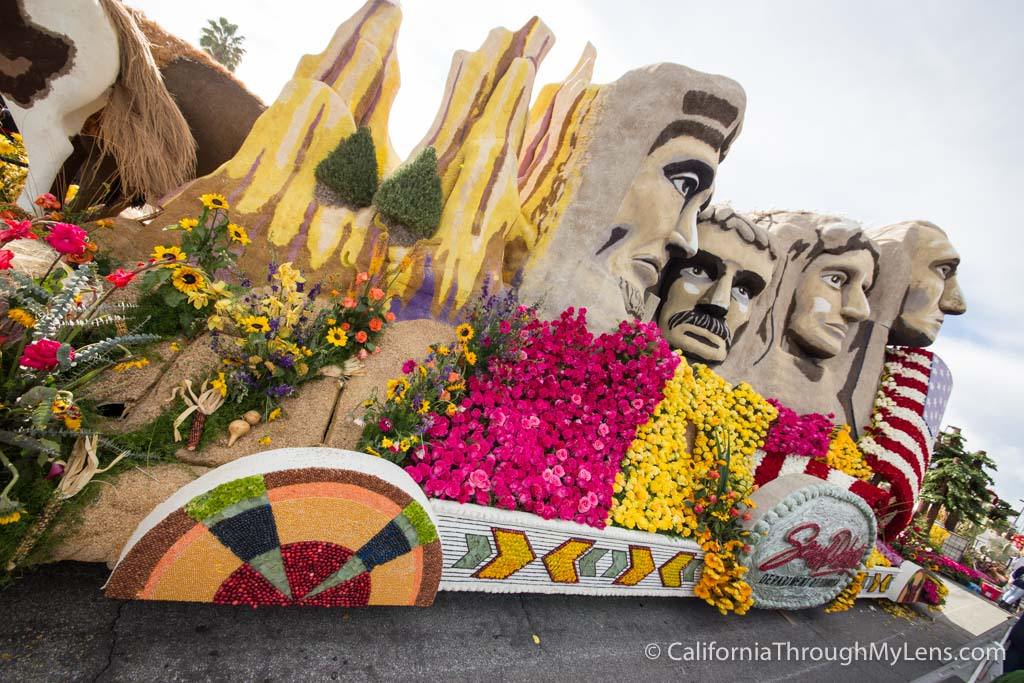 Tournament Of Roses Post Parade Float Viewing