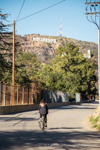 Hollywood Reservior Biking-12