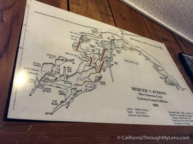 Mercer Cavern Map-1