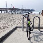 Biking from Huntington Beach Pier to Newport Beach Pier