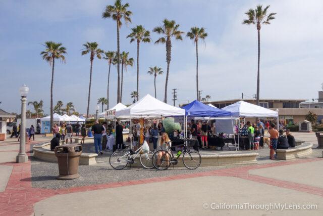 Biking from Huntington Beach Pier to Newport Beach Pier California