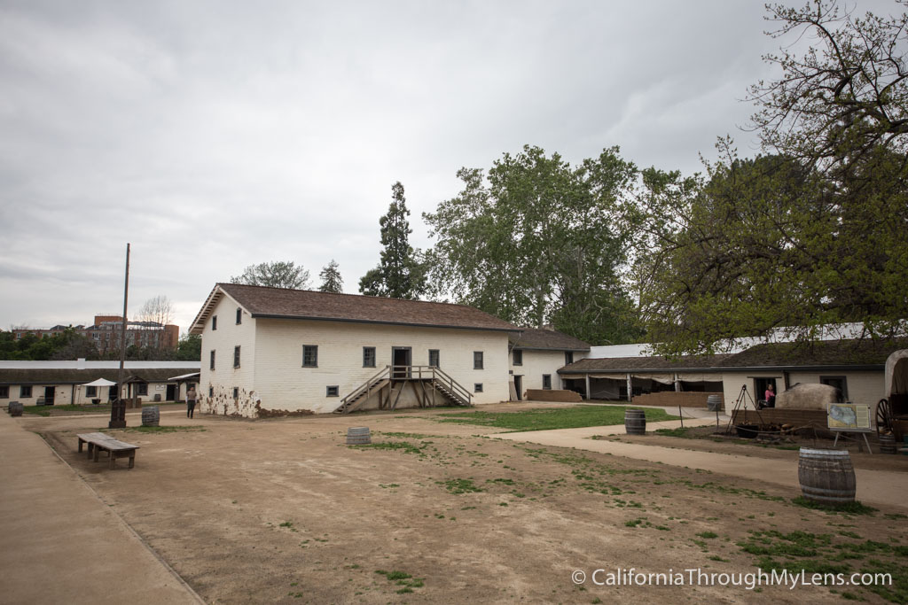 Sutter S Fort State Historic Park In Downtown Sacramento