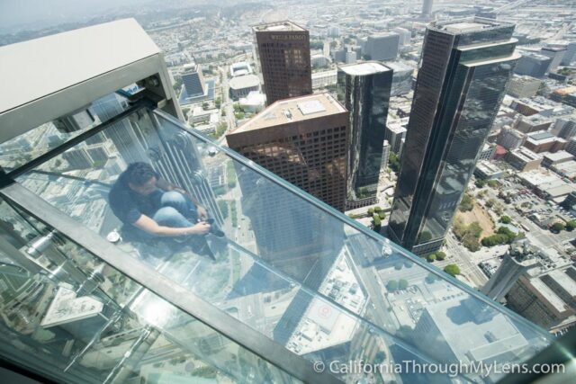Skyspace La Slide >> OUE Skyspace: Glass Slide & Open Air Observation Deck in Los Angeles - California Through My Lens