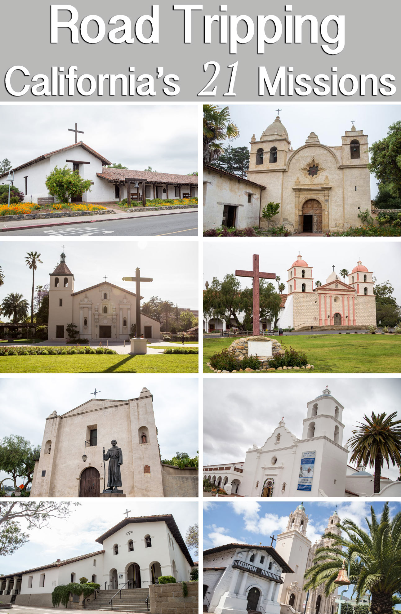 california missions how to visit all 21 road trip along el camino