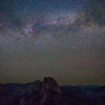 Stargazing at Glacier Point in Yosemite National Park
