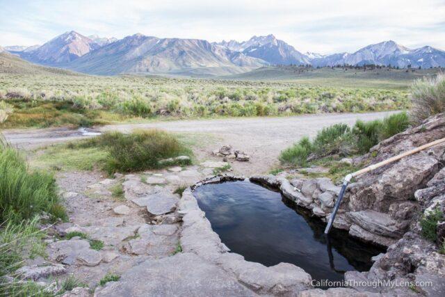 Bishop / Mammoth Creek Hot Springs List Off Benton Creek Crossing ...