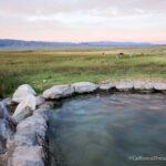 Bishop / Mammoth Creek Hot Springs List Off Benton Creek Crossing Road