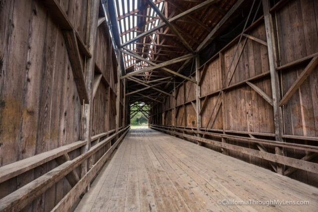 Felton Covered Bridge Tallest Covered Bridge In The Usa