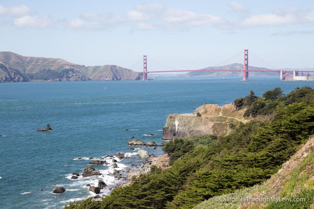 Image result for lands end golden gate bridge