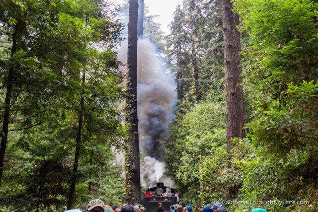 roaring camp train ride-12