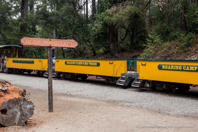 roaring camp train ride-14