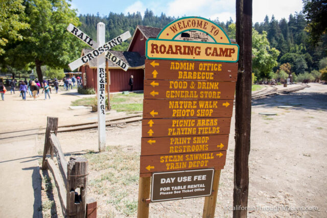 roaring camp train ride-17