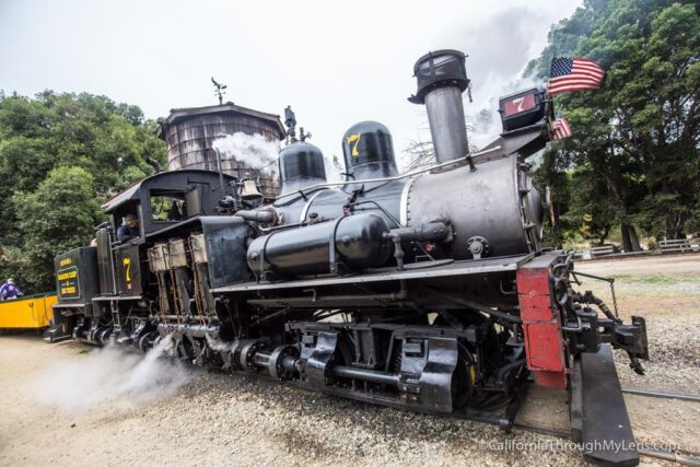 roaring camp train ride-5