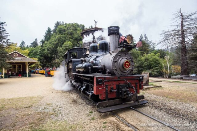 roaring camp train ride-6