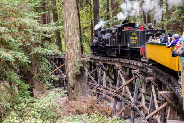 roaring camp train ride-8