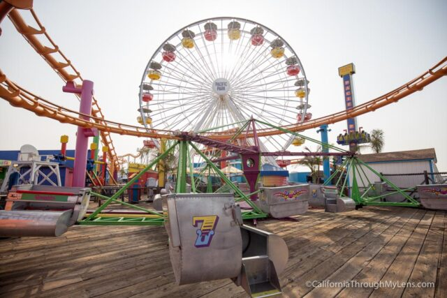 The Santa Monica Pier Is Home To Rides Food And Attractions It Also End Point Of Famous Route 66 Which Makes A Great Place Explore That