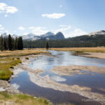 Backpacking to Glen Aulin from Tuolumne Meadows in Yosemite National Park
