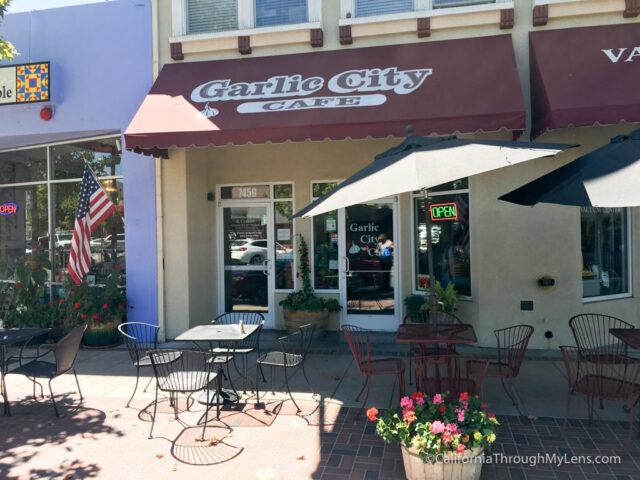 Garlic City Cafe Menu Gilroy Ca