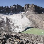Hiking to the Palisade Glacier from Second Lake on the Big Pine North Fork Trail