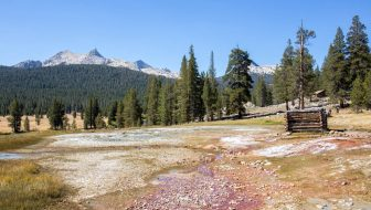 Soda Springs & Parsons Memorial Lodge in Tuolumne Meadows