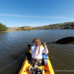 Kayaking the Mouth of the Russian River in Jenner with Getaway Adventures
